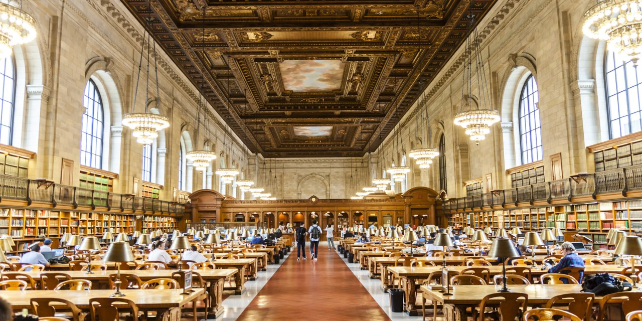 reading room NY public library